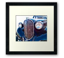 Classic  Car Grill 1938 Plymouth Framed Print