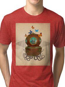 octopus Tri-blend T-Shirt