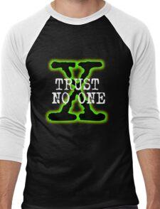 Trust No One Men's Baseball ¾ T-Shirt