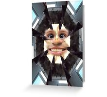Face series 2 Greeting Card