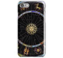 The Zodiac Chart - custom colours by request iPhone Case/Skin