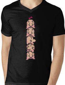 Saturn Tower Mens V-Neck T-Shirt