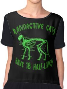Radioactive Cats Chiffon Top