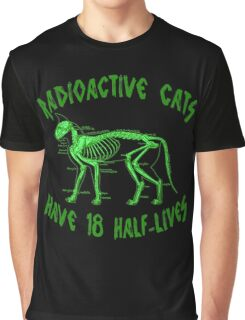 Radioactive Cats Graphic T-Shirt