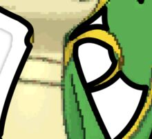 Snivy - Pokemon Thick Border Sticker