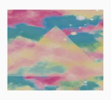 Psychedelic Tie Dye Pyramid Heaven One Piece - Short Sleeve