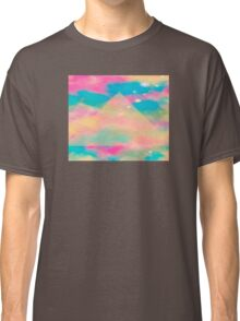 Psychedelic Tie Dye Pyramid Heaven Classic T-Shirt