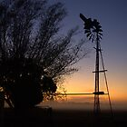 Old windmill by Kerry  Hill