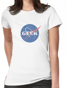 Space Geek Womens Fitted T-Shirt