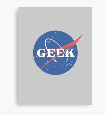 Space Geek Canvas Print