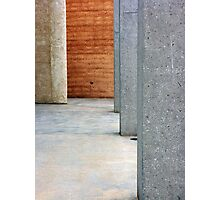 Concrete and Stone Photographic Print