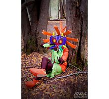 Skull Kid on the Ocarina Photographic Print