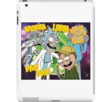 Rick and Morty Dab Design  iPad Case/Skin