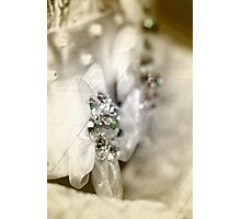 Bridal Beads Photographic Print