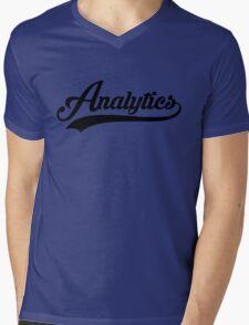 Team Analytics Tee Mens V-Neck T-Shirt