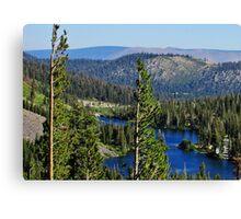Sierra Landscape Canvas Print