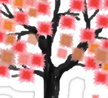 Hanami Season Sakura Blooms Sticker