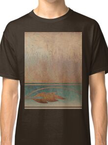 Field and Leaves Abstract Classic T-Shirt