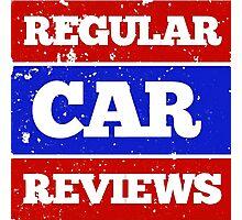 regular car reviews Photographic Print