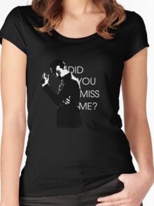 Did you miss me? Moriarty Women's Fitted Scoop T-Shirt