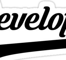 Team Developer Tee Sticker