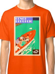 Conch Republic Boat  Classic T-Shirt