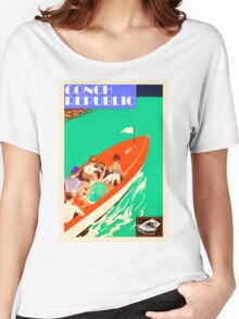 Conch Republic Boat  Women's Relaxed Fit T-Shirt