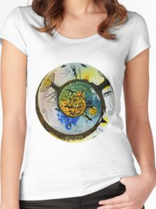 Our Journey (Round) Women's Fitted Scoop T-Shirt