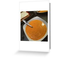 Homemade Tomato Soup Greeting Card