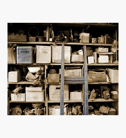 Some Shelves are Bowed Photographic Print