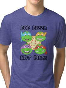 Pop Pizza Tri-blend T-Shirt