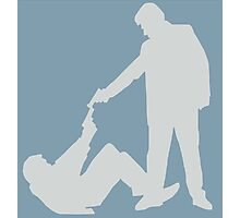 Reservoir Dogs Silhouette Photographic Print