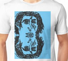 All Down The Line, Double Blue Narcissus Unisex T-Shirt