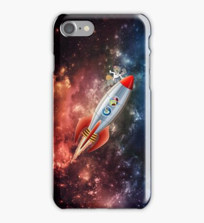 Spongebob Spaceship iPhone Case/Skin