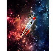 Spongebob Spaceship Photographic Print