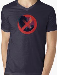 No Smoking, Man Mens V-Neck T-Shirt