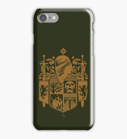 Iron Coat of Arms - IB Edition iPhone Case/Skin
