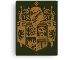 Iron Coat of Arms - IB Edition Canvas Print