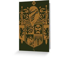 Iron Coat of Arms - IB Edition Greeting Card