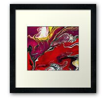 Liquid Acrylic 1 Framed Print