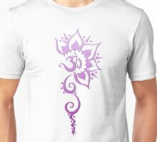 Rising Om - Purple Fade Unisex T-Shirt