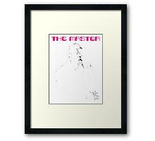 THE MASTER - PHILIP SEYMOUR HOFFMAN Framed Print