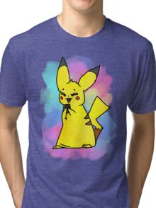 Choco-pika! Tri-blend T-Shirt
