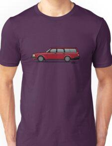 Volvo 245 Brick Wagon 200 Series Red Unisex T-Shirt