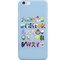 Adventure Alphabet iPhone Case/Skin