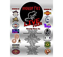 NEW Mouse Rat (Live Tour Edition) Plus Pawnee Sponsors & Former Band Names! Photographic Print