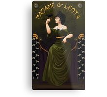 Haunted Mansion Madame Leota Metal Print