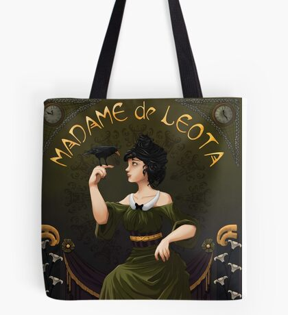 Haunted Mansion Madame Leota Tote Bag