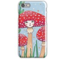 Uncommon Variety - Red Mushroom iPhone Case/Skin