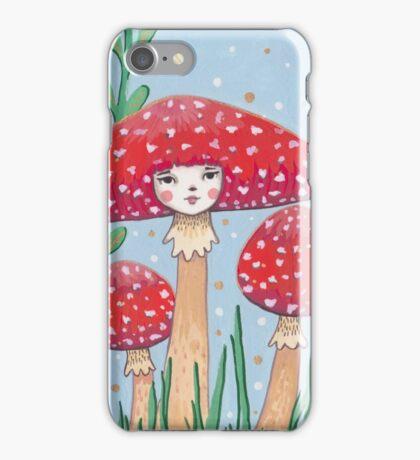 Uncommon Variety - Red Mushroom iPhone Case/Skin
